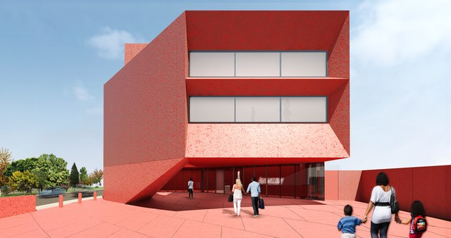 - ساختمان Ruby City / طراح معماران Adjaye / تگزاس
