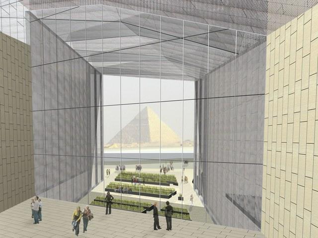 - موزه بزرگ مصر / طراح معماران Heneghan Peng / گیزا