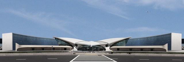 - هتل TWA (مرکز اصلاح پرواز) / طراح Beyer Blinder Belle و معماران Lubrano Ciavarra / نیویورک