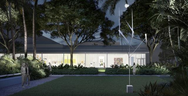 - موزه هنر نورتون / طراح شرکت فاستر و شرکا / فلوریدا