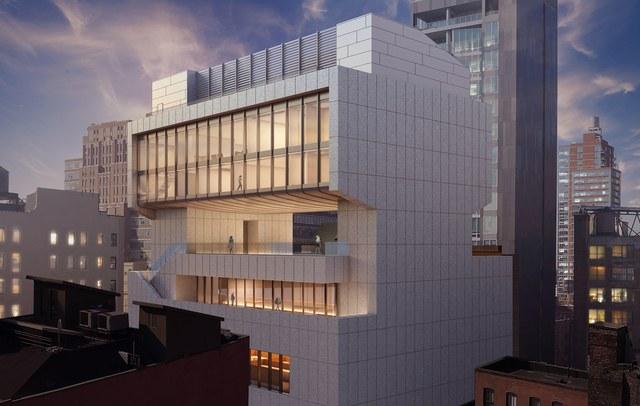- ساختمان مرکزی گالری Pace / طراح معماران Bonetti Kozerski / نیویورک