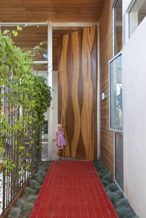 پانل های چوبی مواج