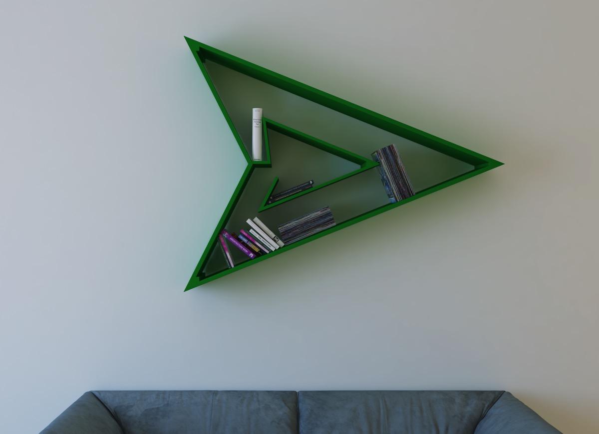 رنگ سبز قفسه