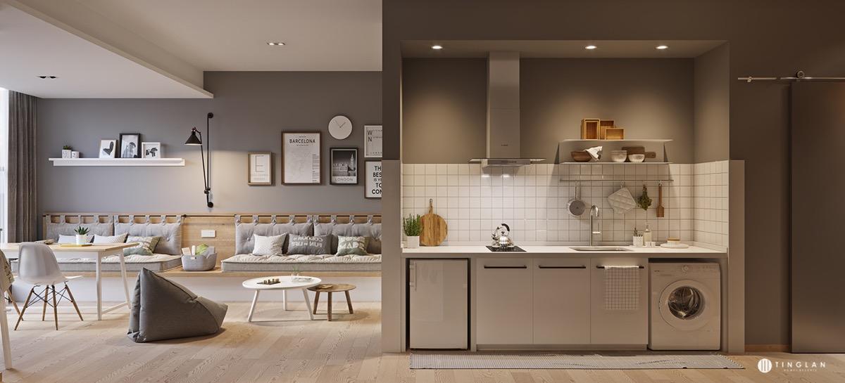 فضای مفید در آشپزخانه