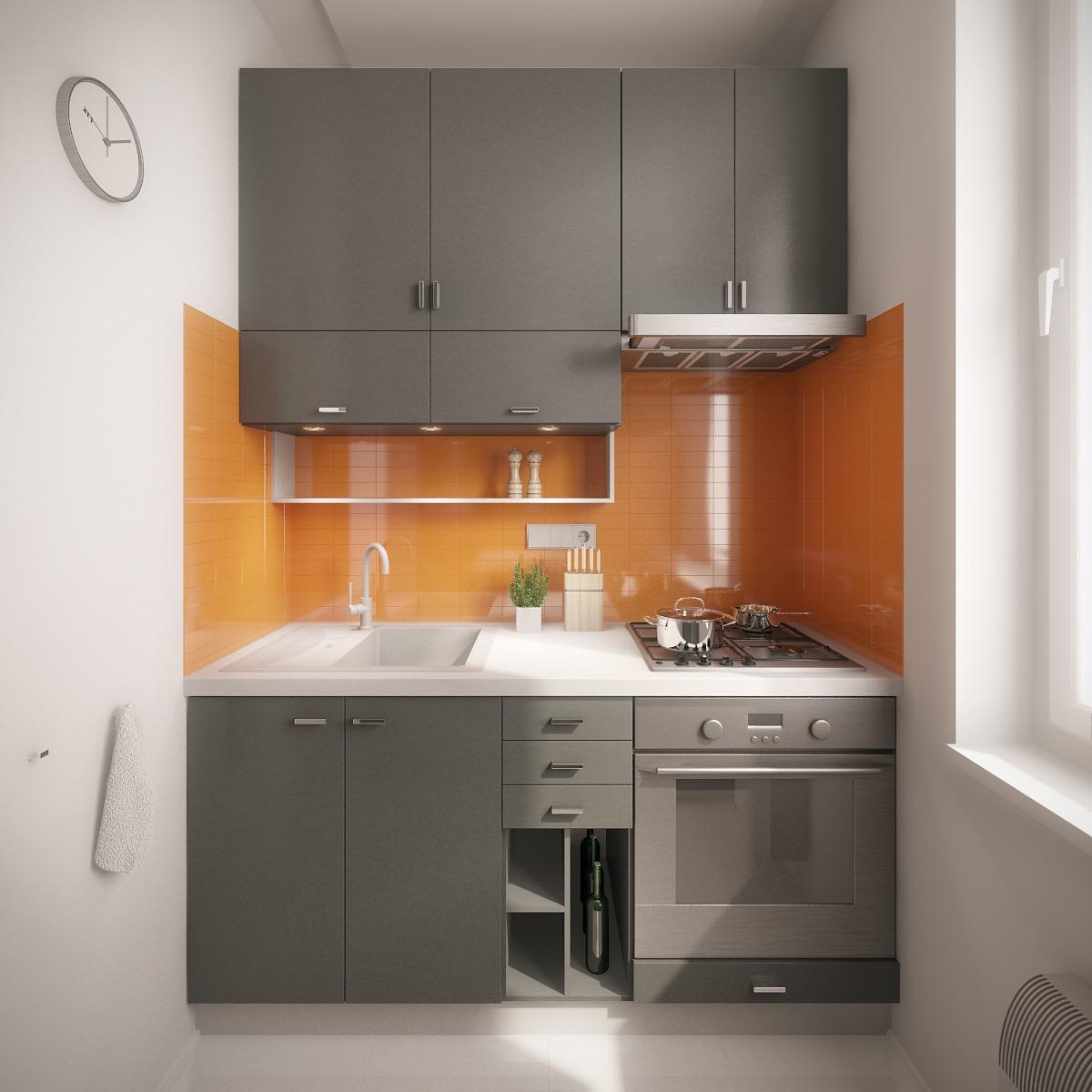 طراحی آشپزخانه های کوچک