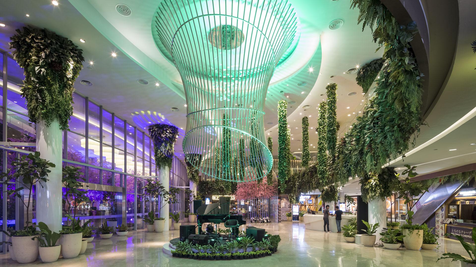 طراحی داخلی مرکز خرید