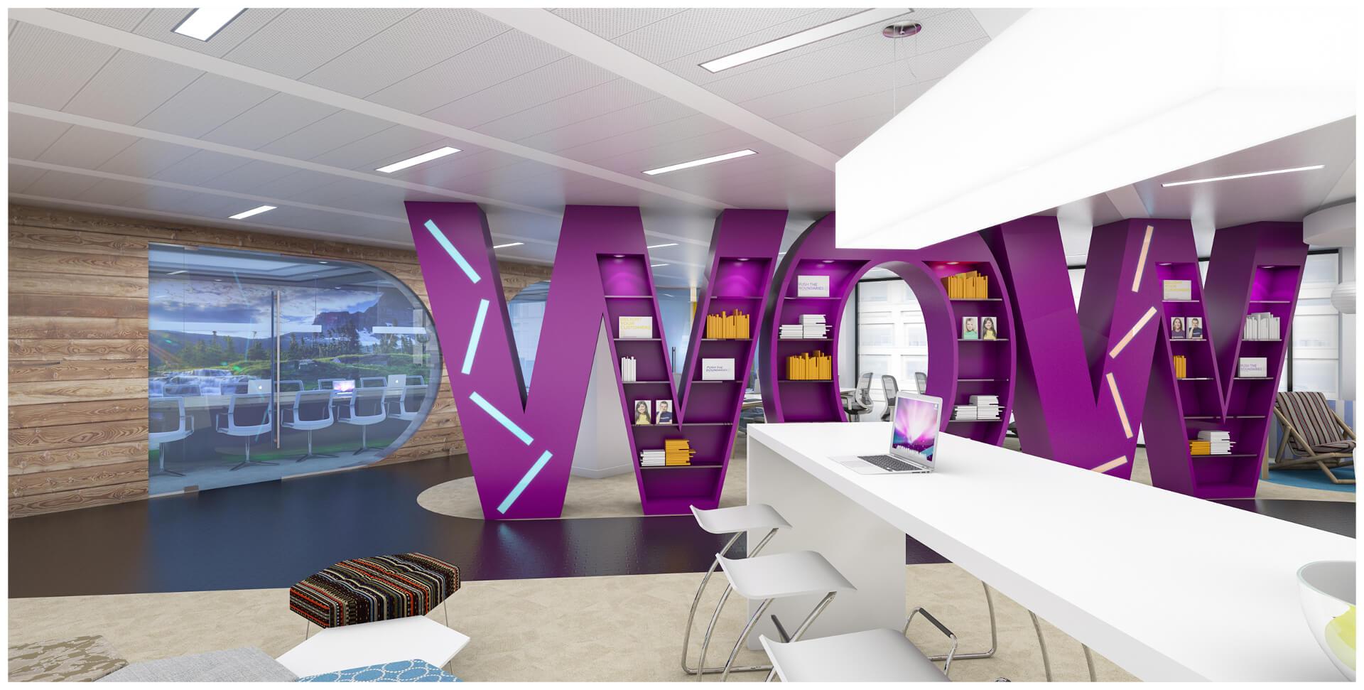 طراحی داخلی مراکز اداری