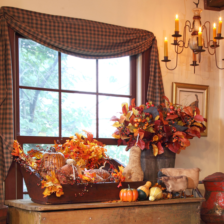 دکوراسیون پاییزی خانه