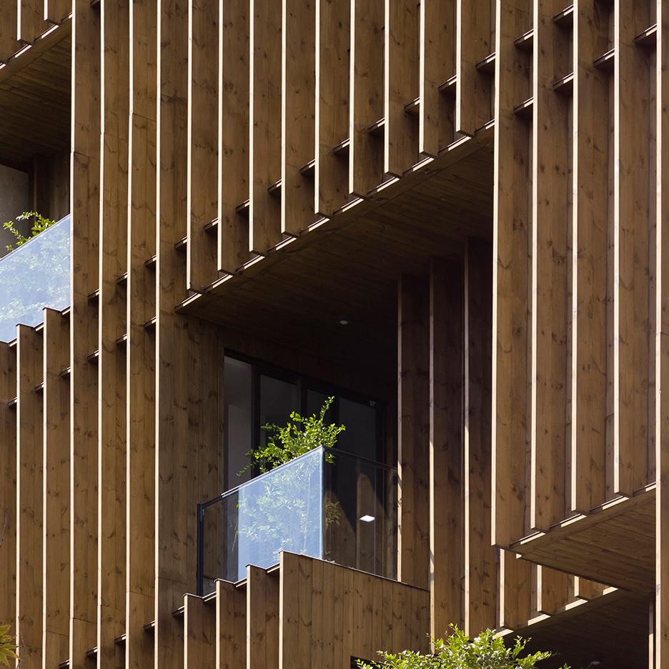 کاربرد چوب در معماری نما