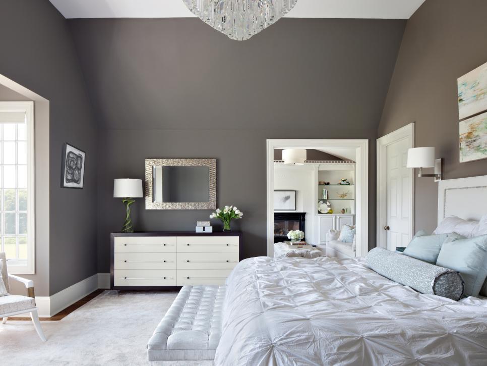 رنگ تیره اتاق خواب