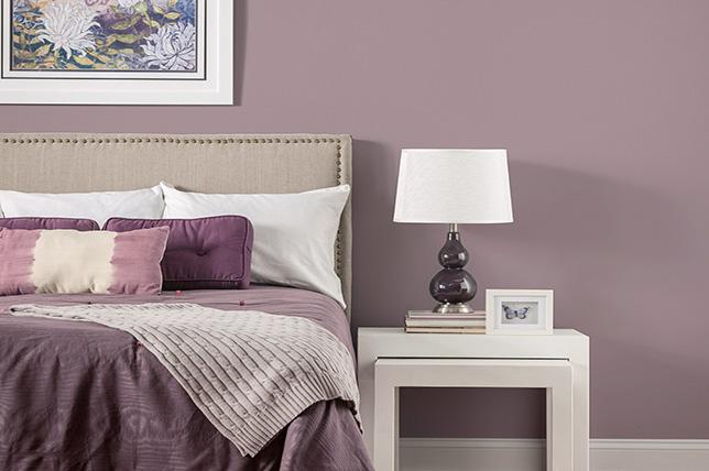 رنگ های سرد و گرم اتاق خواب