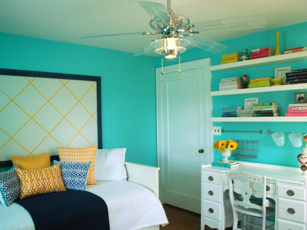 رنگ روشن اتاق خواب